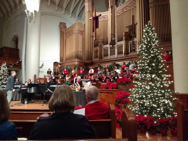 Christmas concert at United Methodist Church