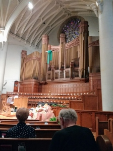Organ at United Methodist Church