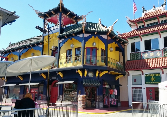 repainted building chinatown
