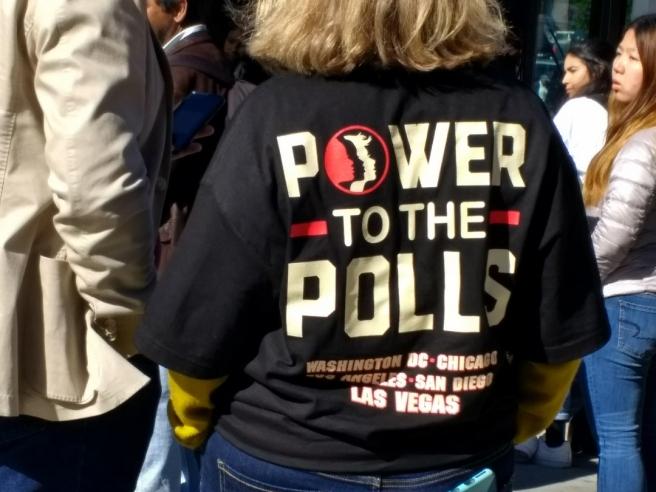 Womens March Power to the Polls