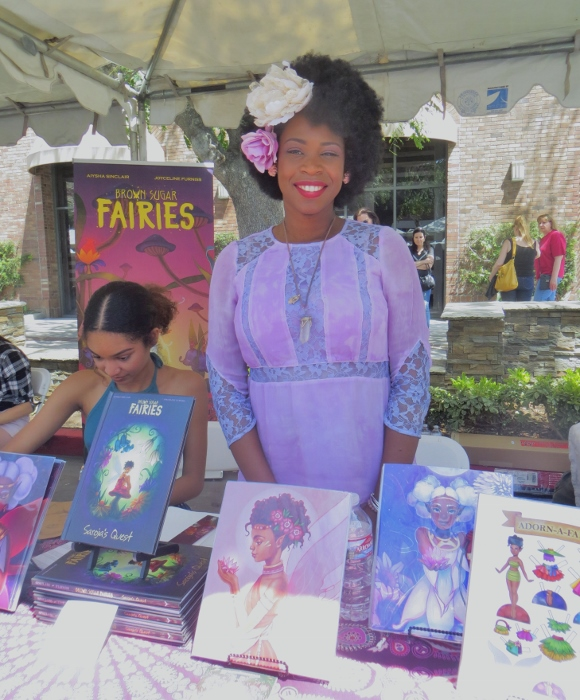 Aiysha Sinclair annimation expo burbank fair