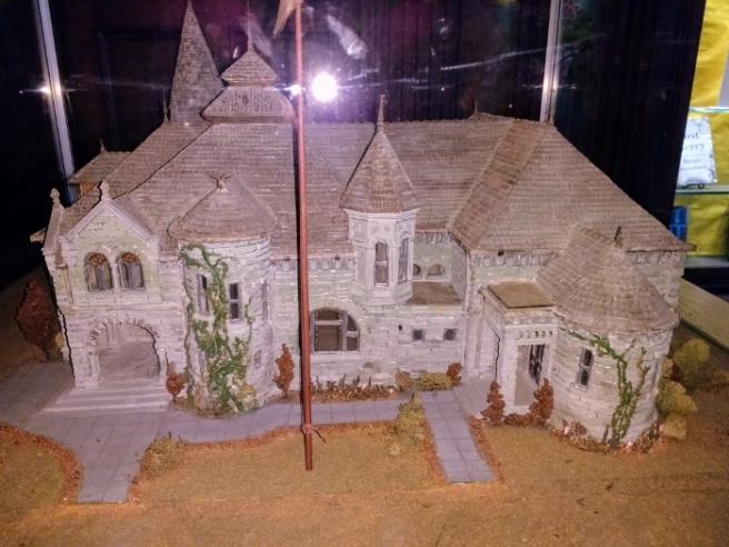 Pasadena Library model
