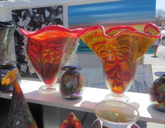Rick Hunter handblown glass