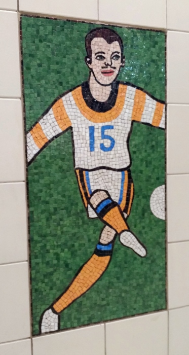 Soccer player 15 Civic Center Metro