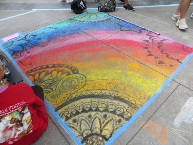 Chalk Art by Jacqui Somo