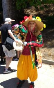Lummis days marcher snake puppet