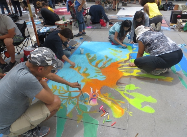 Pasadena Chalk Art Festival 2018