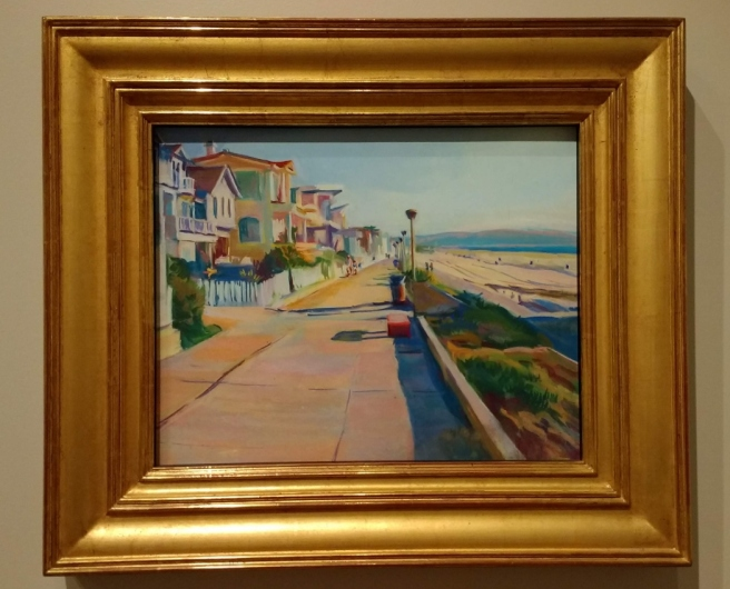Gerald Rahm painting