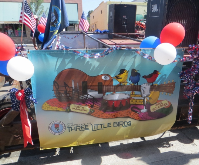 Rose Parade Float South Pasadena 2019