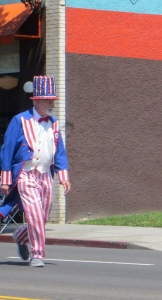 Uncle Sam played by Michael Sanford