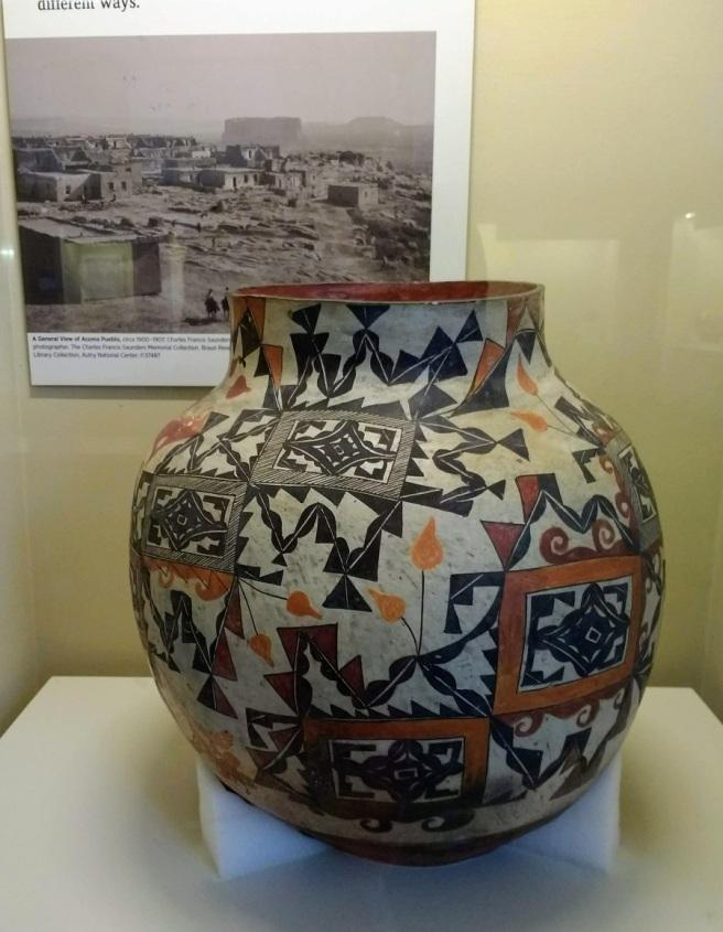 Acoma Pueblo pottery LACityPix 2018