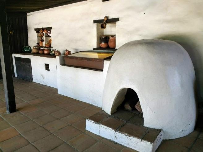 Avila adobe kitchen outdoors