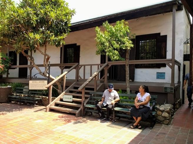 Avila Adobe oldest LA house