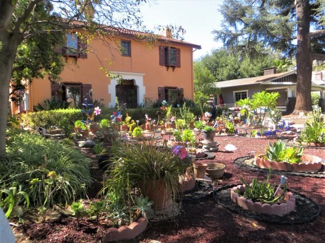 Blue Bottle garden Pasadena LA City Pix