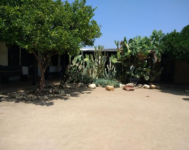 Center courtyard Avila Adobe LA City Pix