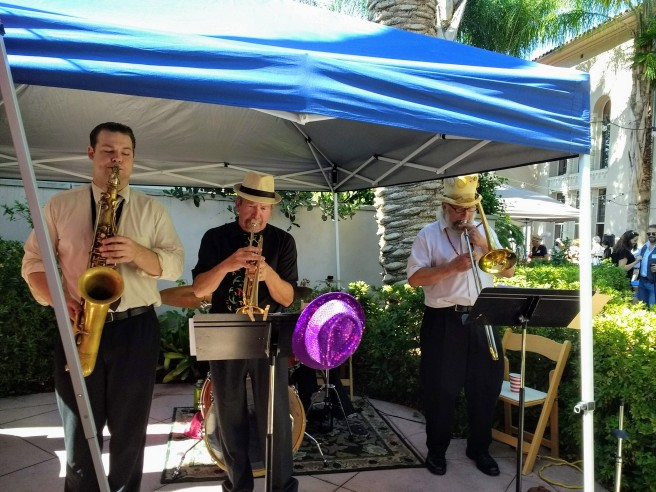 Dixie Land Jazz band Ice Cream Social Pasadena