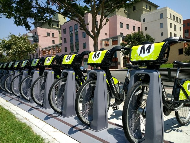 Metro bikes at Del Mar rental apartments