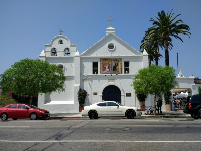 Our Lady Queen of the Angels church Los Angeles LA City Pix