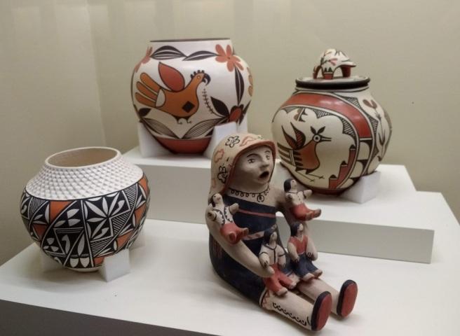 Southwest American pottery LACityPix 2018