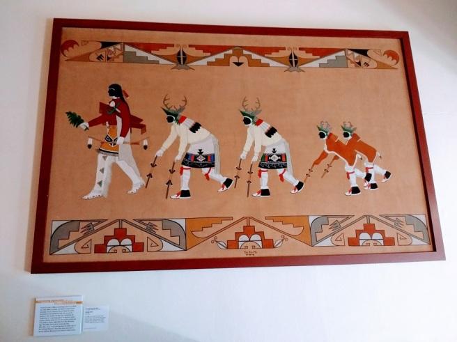 Southwest Museum Navajo painting 2018