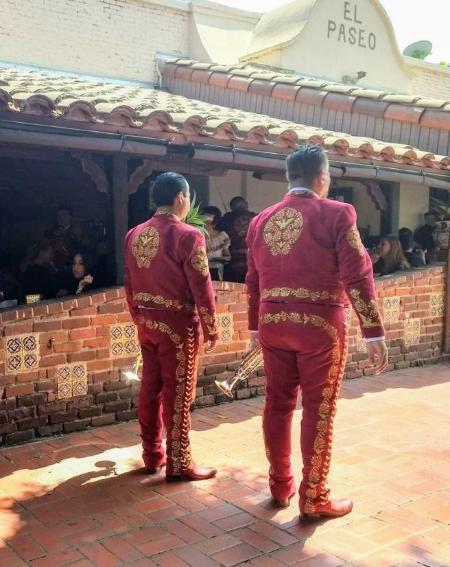 Two mariachis at Olvera Steet LA City Pix