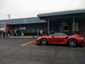 7.50 am The Line behind the DMV on Rosemead Blvd.