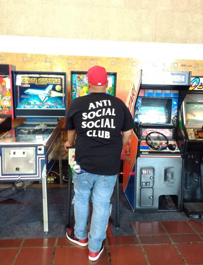 Anti Social Social Club Retrocade LA City Pix