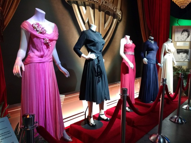 Costumes worn by movie stars Warner Studio