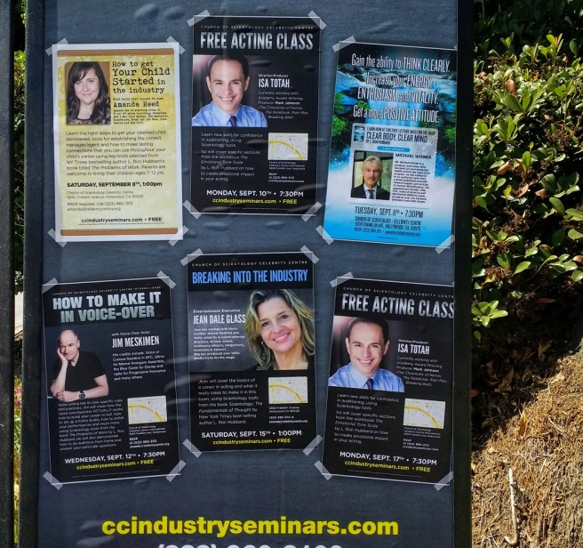 Free classes at Scientology Center Los Angeles LA City Pix