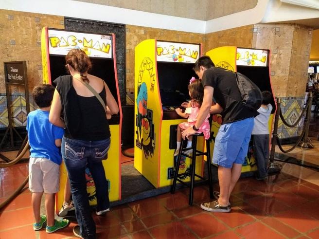Pac Man arcade game LA City Pix 2018