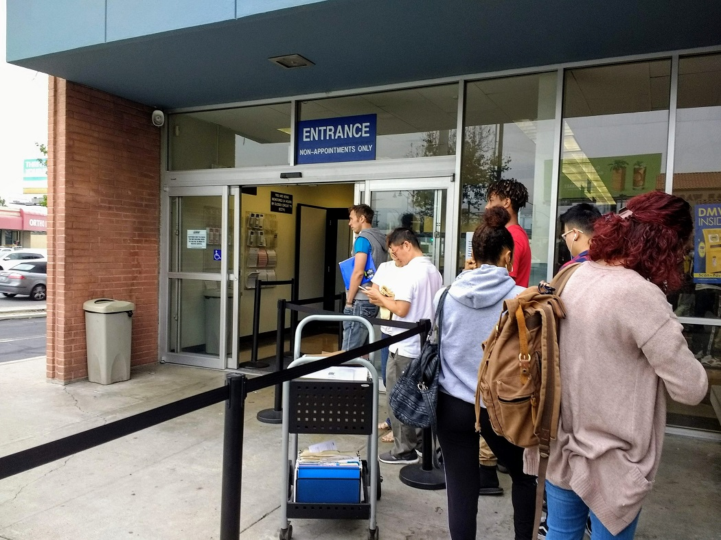 Going to the DMV in Pasadena  In and out in 2 hours – lacitypix