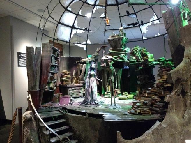 Tim Burton's The Corpse Bridge mock up