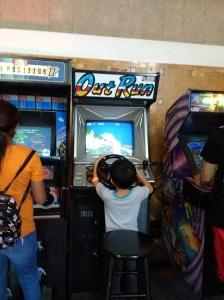 Too short for arcade game LA City Pix