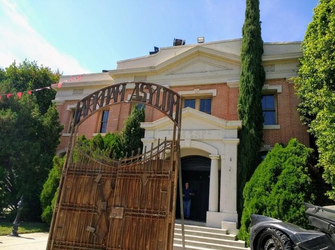 Arkham asylum Warner Studio LA City Pix