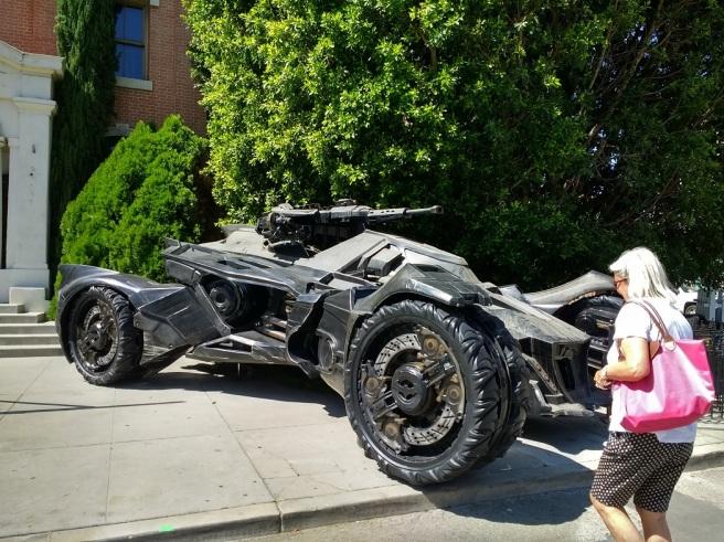 Batmobile on Warner Bros. Studio backlot