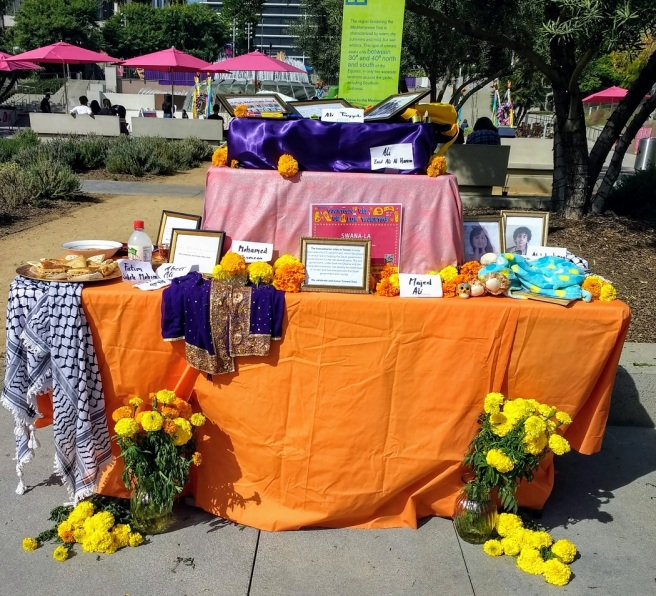 Yemeni altar Day of the Dead Los Angeles 2018