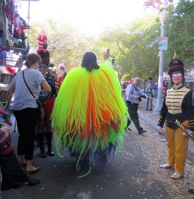 Behind the scenes Doo Dah parade
