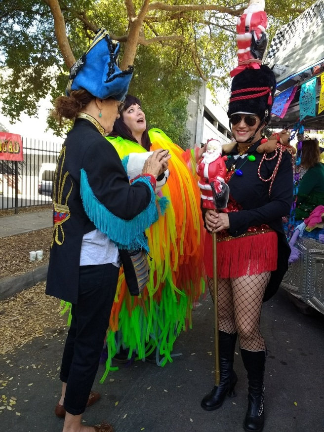 Dressed for fun Doo Dah parade 2018