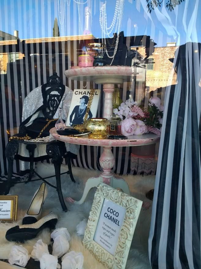 Coco Chanel altar in Pasadena