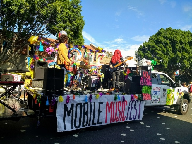 Mobile music fest band 2 Doo Dah