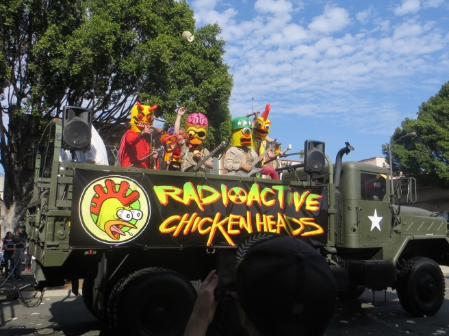 Radioactive Chickenheads a real band 2018